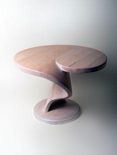 Handmade coffee table from QL Project. Birch-tree wood.