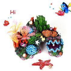Coral Reef Fish Tank Ornament