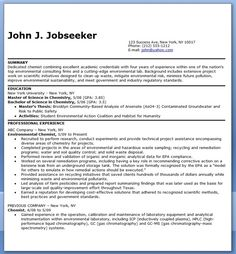 Resume objective examples, Resume objective and Chemist on Pinterest