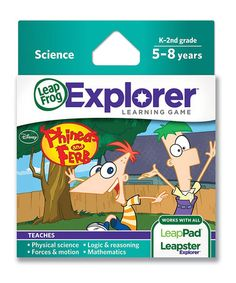 This Phineas & Ferb Explorer Science Game is perfect! #zulilyfinds