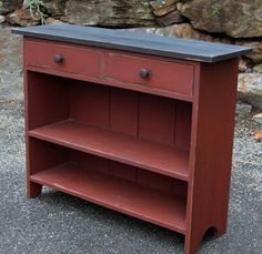 Primitives -Primitive country Furniture-Primitive painted furniture #diyfurniture