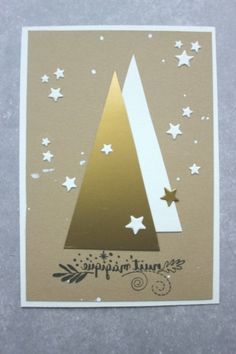 Excellent Free Scrapbooking Paper christmas Suggestions Scrapbooking paper types the setting for every single website of this scrapbook. Handmade Christmas Tree, Christmas Card Crafts, Homemade Christmas Cards, Christmas Scrapbook, Christmas Cards To Make, Xmas Cards, Christmas Greetings, Homemade Cards, Greeting Cards Handmade