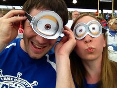 #JustAddGoggles to become a Minion!