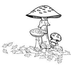Big Autumn Maple Leaf Printable Adult Color Page.. Fall
