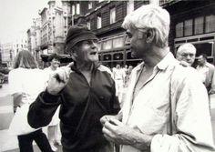Bohumil Hrabal és Mészöly Miklós
