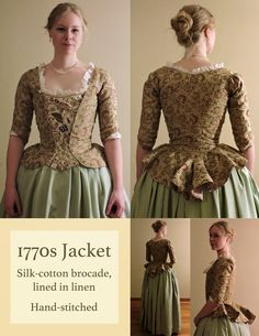 Perin Westerhof Nyman, Toronto, Canada For more information or to contact me, p… - Historical Fashion 18th Century Dress, 18th Century Costume, 18th Century Clothing, 18th Century Fashion, Vintage Dresses, Vintage Outfits, Vintage Fashion, Victorian Dresses, 1700s Dresses