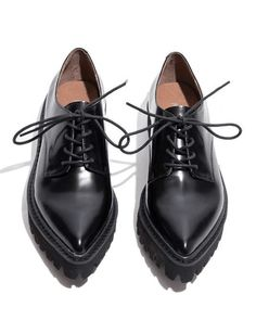 Pixie Market | Jeffrey Campbell Seymour Oxford Shoes #PixieMarket #oxford #flat #shoes