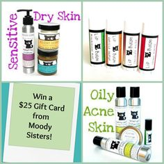 GIVEAWAY: Pamper yourself with Moody Sisters Organic Skincare products!