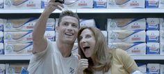 Cristiano Ronaldo dá a cara pelo Grupo Bimbo