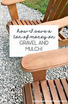 How I save a ton of money on gravel and mulch is a…