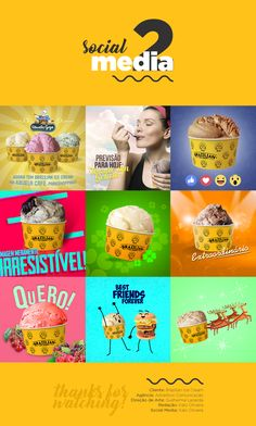 Social Media #2 - Brazilian Ice Cream on Behance