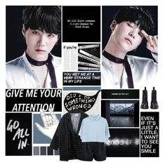 """Set Me Free"" by kim-daily ❤ liked on Polyvore featuring Oris, Dr. Martens, IDeeen, 3.1 Phillip Lim, kpop, bts, bangtan, yoongi and ynwa"