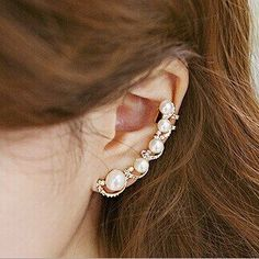 Jewellery & Watches IUTING Crystal Glass Tassels Earrings No Hole Ear Clips Multicolor Glass Clip Earrings Without Piercing Romantic Women Earring