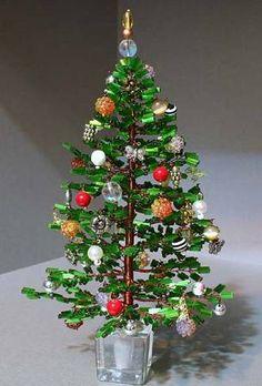 Beautiful Beaded Tree Tutorial