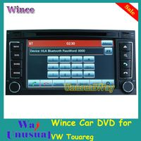 Free Shipping 2015 Top Car Styling Wince Car Multimedia DVD Vadio For VW Touareg 2003-2011 / T5 2009-2010 With GPS Navi BT Map