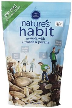 Nature's Habit Granola with Almonds and Pecans, 12 Ounce -- Details can be found by clicking on the image.