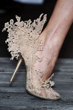 """""""Philip Treacy for Valentino shoes."""" Repinned from @Annelies ter Brugge."""