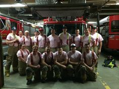 Have your pink shirts for tomorrow's anti bullying day? Our PM Volunteers are ready!  @pomovolfire @pinkshirtday pic.twitter.com/SNFD3PNClx