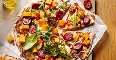 This quick and tasty chorizo pizza is perfect for a Friday night in.