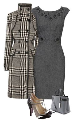 """""""Gray day"""" by joffreygirl ❤ liked on Polyvore featuring Haider Ackermann, Karen Millen and Michael Kors"""