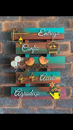 Pallets, Alphabet, Gardens, Craft, Ideas, Picture On Wood, Paintings