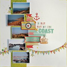 A Day out at the Coast – The Studio Challenge | dapfnie.design