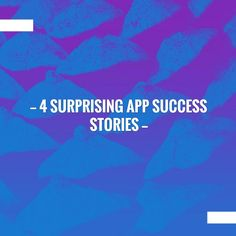 Read more on my blog 👉 4 Surprising App Success Stories  http://thisisglance.com/4-surprising-app-success-stories/?utm_campaign=crowdfire&utm_content=crowdfire&utm_medium=social&utm_source=pinterest