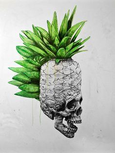 Ananas skull