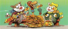 Illustration by Mauri Kunnas.