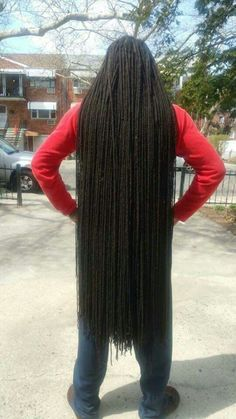 Whoa! These locs are gorgeous!