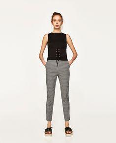 Image 1 of CORSET T-SHIRT from Zara