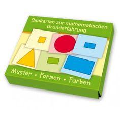 Bildkarten zur mathematischen Grunderfahrung Muster, Formen, Farben