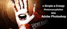 Scream - a Simple and Creepy Photo Manipulation Using Adobe Photoshop - Project File Download -  - Read the Full Tutorial with the Project Files at http://www.designoptimal.com/?post_type=download&p=1002
