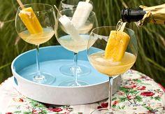 Espumante com picolé: bebida geladinha para os dias de calor