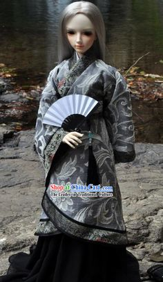 Ancient Chinese Martial Arts Master Clothes for Men