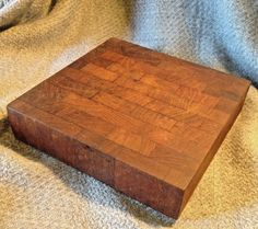 Atapco Staved Footed Cheese Cutting Board Siamese Teak  Kromex VTG Mid Century #Kromex