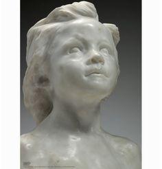 Affiche de la Petite Châtelaine par Camille Claudel. Editée par le musée Rodin