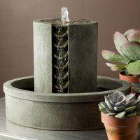 tabletop fountain