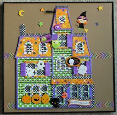 Happy Paper Craft Happenings: Haunted House Doodlebug