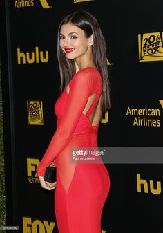 Actress Victoria Justice attends the Fox and FX's 2016 Golden Globe Awards Party on January 10, 2016 in Beverly Hills, California.