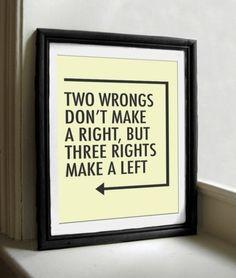 Smart thinking.