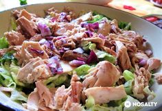 Egyszerű tonhalsaláta fogyókúrázóknak Healthy Salads, Healthy Recipes, Health Lunches, Hungarian Recipes, Food 52, Light Recipes, Food Inspiration, Salad Recipes, Clean Eating