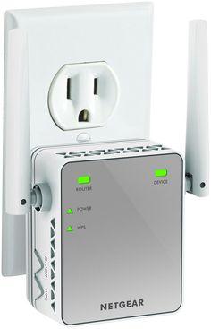 NETGEAR N300 Wi-Fi Range Extender, Essentials Edition (EX2700) #NETGEAR