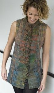 a vest from the Randall Darwall scarf series,