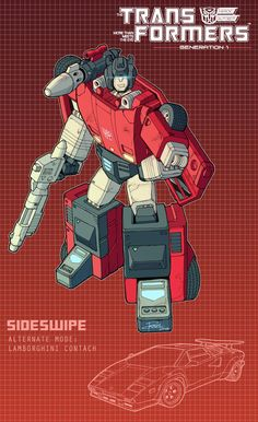 Sideswipe poster by J-Rayner.deviantart.com on @DeviantArt