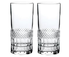 Kristallglas-Tumbler Diamonds, 2 Stück, 330 ml