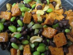 One Dish Vegan roasted sweet potato and black bean salad - Vegansprout reviews