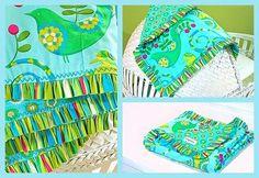 Como hacer una manta de regalo para baby shower