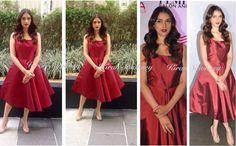 Top Indian fashion and lifestyle blog: Aditi Rao Hydari at Femina Salon & Spa Issue unvei...