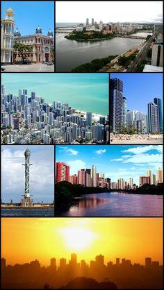 Recife, capital do estado de Pernambuco